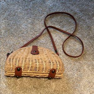 Handbags - Small wicker side bag